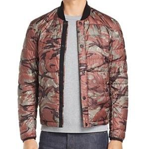 NWT Belstaff Stokenham Camouflage-Print Jacket
